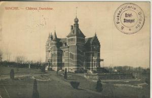 Binche v. 1915  Chateau Durtebise  (57767)