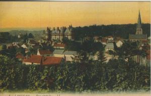 Langeais v. 1915  Vue gernerale  (57779)