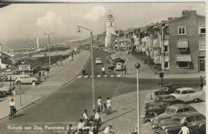 Katwijk v. 1955 Panorama - Zuid Boulevard (57788)