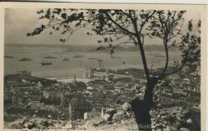 Lisboa v. 1954  Panorama mit Hafensicht  (57794)