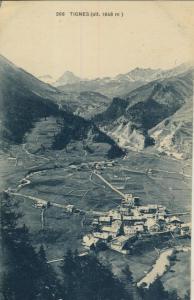 Tignes v. 1923  Dorfansicht  (57799-21)