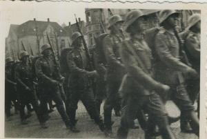 Raddagshausen und Harz v. 20 April 1936  Aufmarsch der Wehrmacht -- siehe Rückseite !!  (57831)