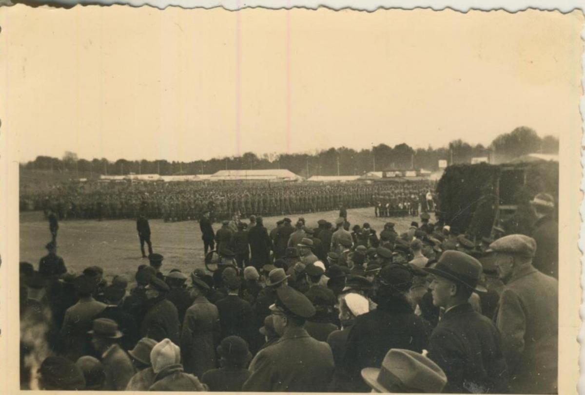Raddagshausen und Harz v. 20 April 1936  Aufmarsch der Wehrmacht  (57832) 0