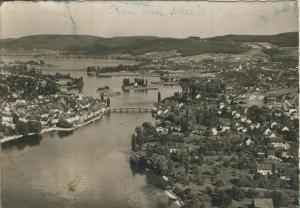 Stein am Rhein v. 1957  Total-Stadt-Ansicht  (58031)