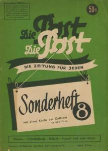 Die Post als Umschlag-Druck: Waldheim-Eberle,Buchgewerbehaus M. Müller,Wien 62 --  Landkarte Mittelmeerraum  (58211)