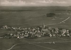 Alerheim im Ries v. 1968  Luftaufnahme (55948)
