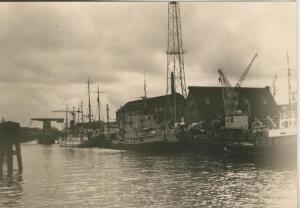 Beverstedt v. 1936  Im Hafen an der Lune  (58241)
