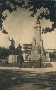 Madrid v. 1950  Plaza de Espana - Monumento  (58350)