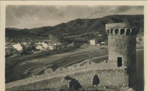 Tossa de Mar / Costa Bravo v. 1955 Dorf und Torre dÈn Joanas  (58351)