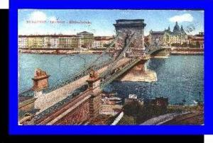 Budapest v.1921 Kettenbrücke (4018)