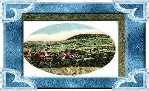 Wörth a. S v.1916 Dorfansicht (11840)