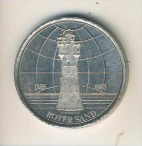 Bremerhaven-Rotersand 1885-1985  (37302)