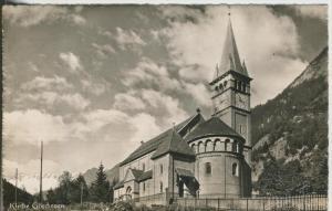 Göschenen v. 1954  Kirche Göschenen  (43311)