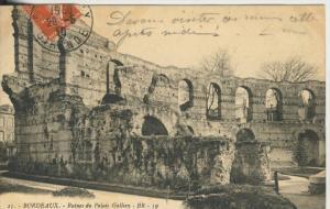 Bordeaux v. 1910  Ruinen du Palais Gallien  (43481)