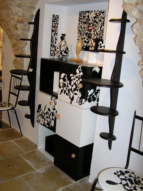 6 w rfel aus holz handbemalt holzw rfel 40x40x40cm 3. Black Bedroom Furniture Sets. Home Design Ideas