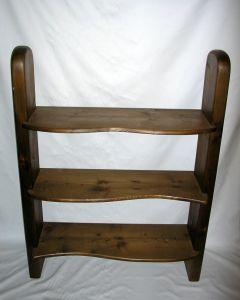 Bücherregal aus Holz, 86x113x30