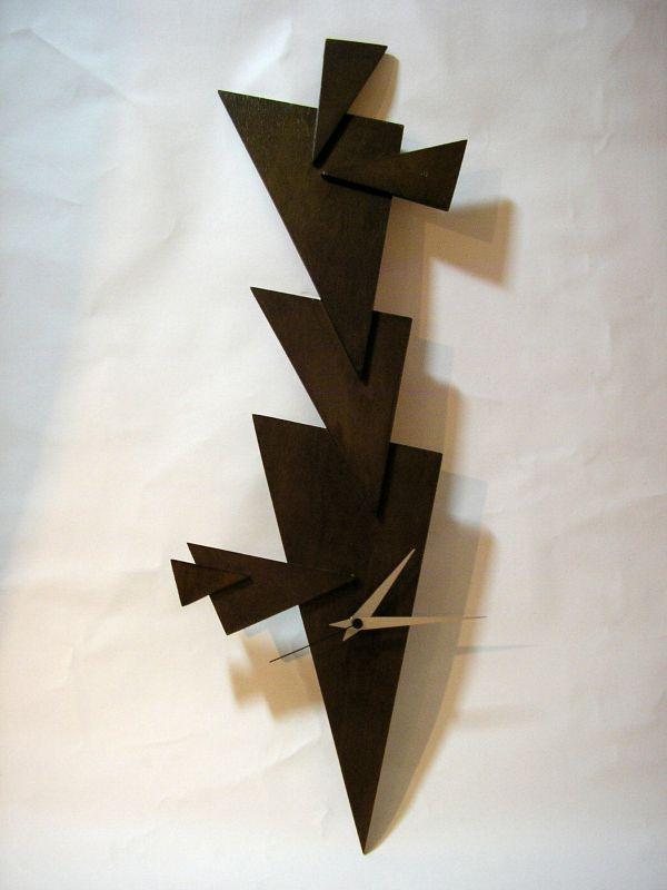 Holz Uhr, 72cm