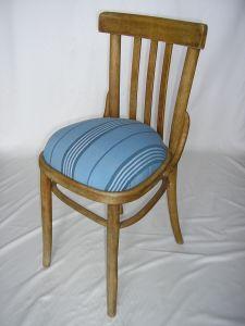 Vintage-Stuhl aus Holz, von Hand dekoriert, 45x45x80cm
