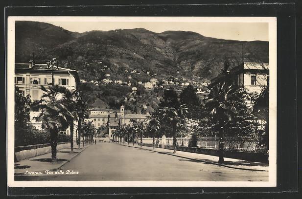 AK Locarno, Via delle Palme