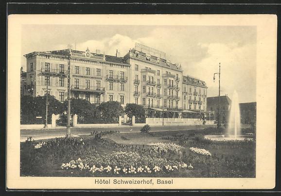 AK Basel, Hotel Schweizerhof
