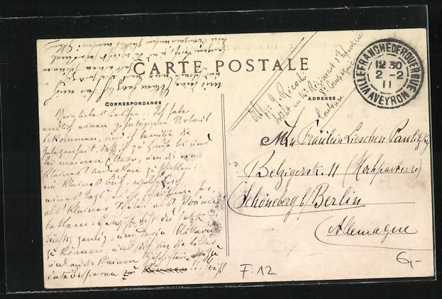 AK Villefranche-de-Rouergue, Les Bords de l\'Aveyron et le Pont 1