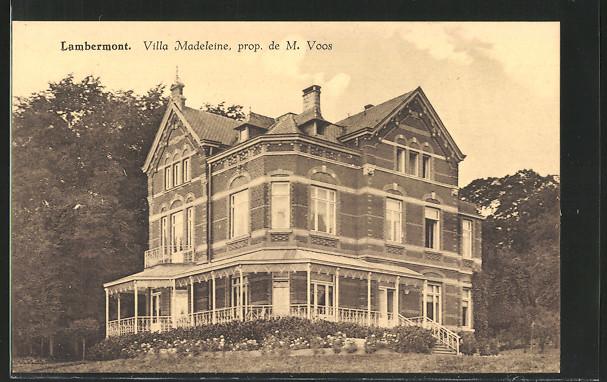 AK Lambermont, Villa Madeleine, Eigentümer M. Voos 0