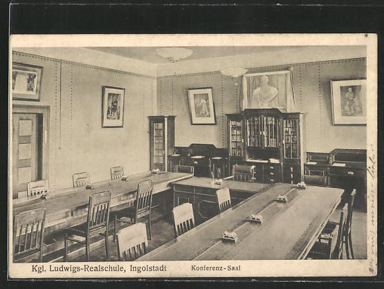 AK Ingolstadt, Konferenzsaal der Königlichen Ludwigs-Realschule 0