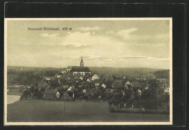 AK Neustadt-Waldnaab, Totalansicht  0