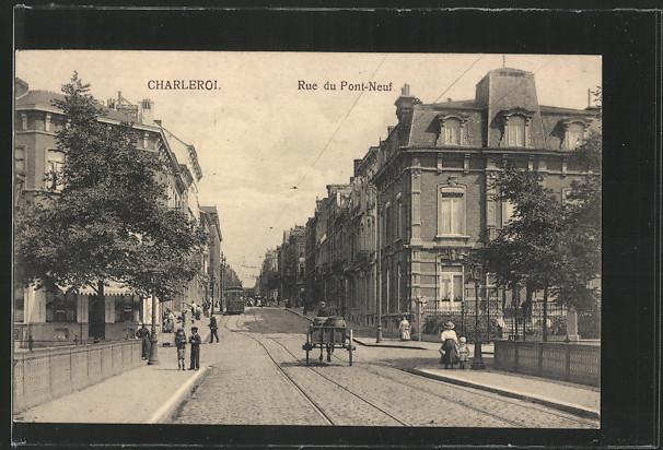 AK Charleroi, Rue du Pont-Neuf 0