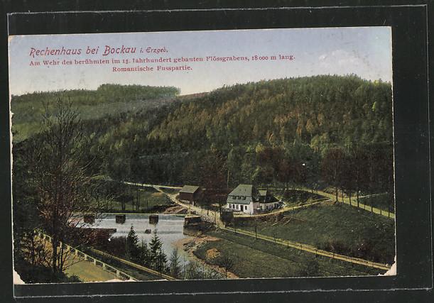 AK Zschorlau, Rechenhaus mit Flusspartie 0