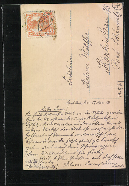 AK Prinz Oskar von Preussen und Gräfin Ina von Ruppin mit Hut 1
