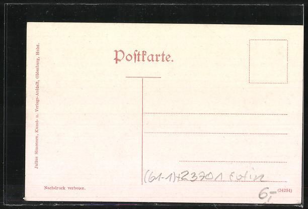 AK Eutin, Topographie-Karte 1:120.000 1