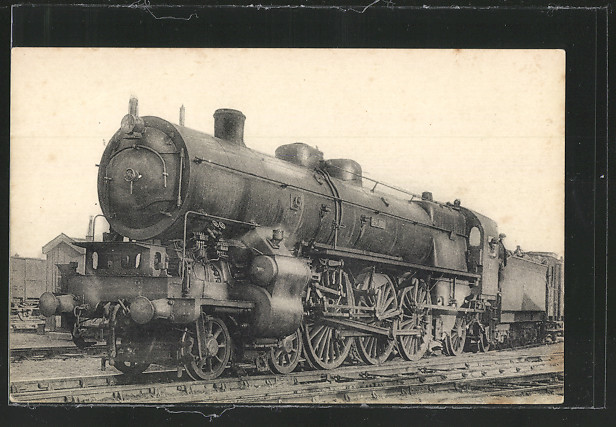 AK Locomotives de L`Etat, Machine 231-001, compound a 4 cylindres 0