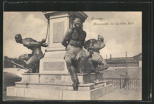 AK Livorno, Monumento dei Quattro Mori 0