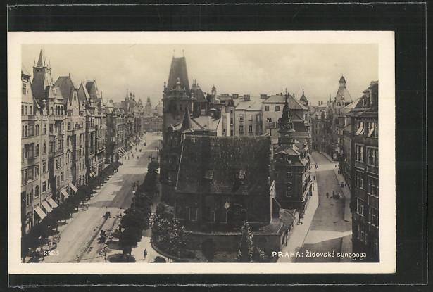 AK Praha, Zidovska synagoga, Synagoge 0