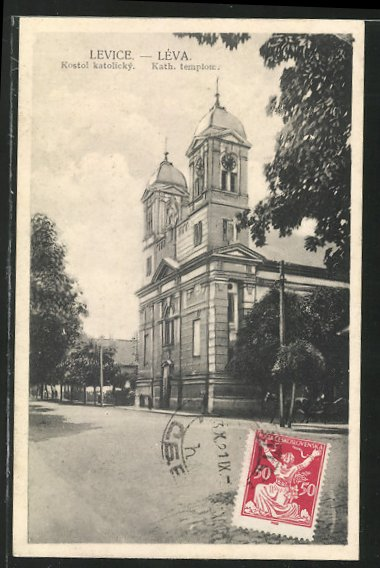 AK Levice, Leva, Kath. templom 0