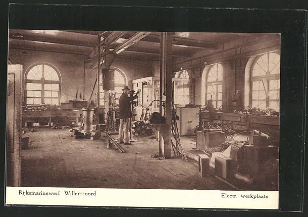 AK Willemsoord, Rijksmarinewerft, Electr. werkplaats 0