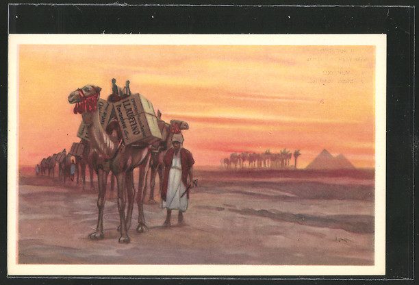 AK Weintransport auf Kamelen, S.A. Chianti Ruffino 0