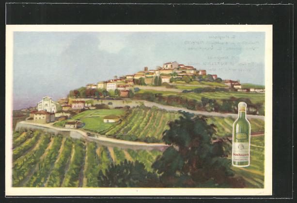 AK Flasche Weisswein St. Margherita, S.A. Chianti Ruffino 0