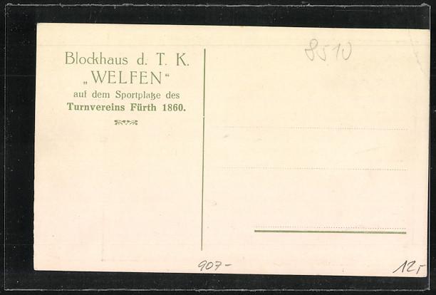 AK Fürth, Blockhaus d.T.K. \