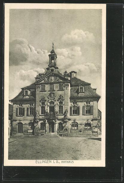 AK Ellingen, Rathaus 0