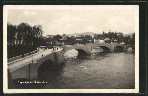 AK Rheinfelden, Rheinbrücke 0