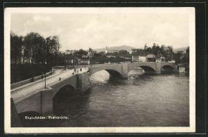 AK Rheinfelden, Rheinbrücke