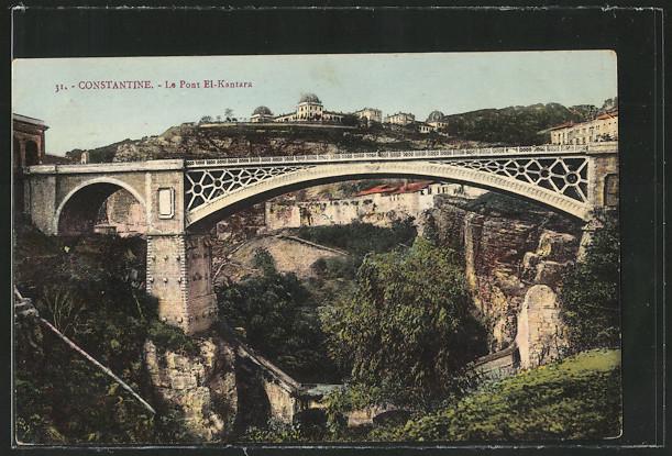 AK Constantine, Le Pont El-Kantara 0