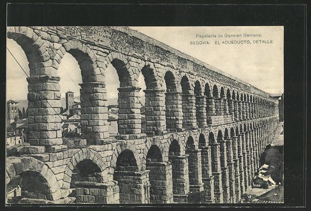 AK Segovia, El Acueducto, Detalle 0