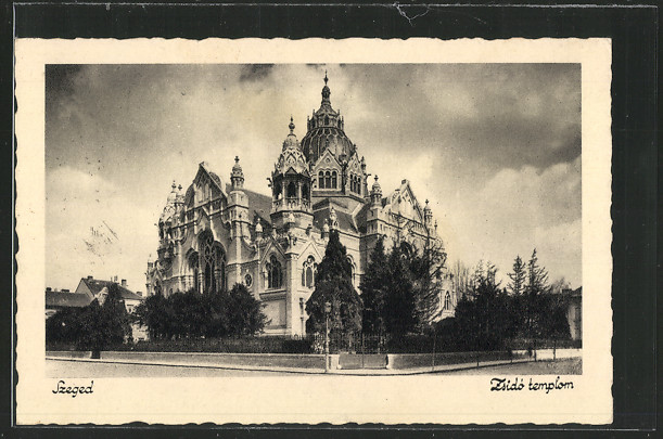 AK Szeged, Zsido templom, Synagoge 0