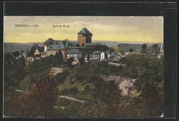 AK Solingen, Schloss Burg 0