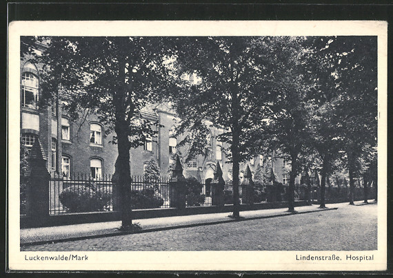 AK Luckenwalde, Hospital in der Lindenstrasse  0