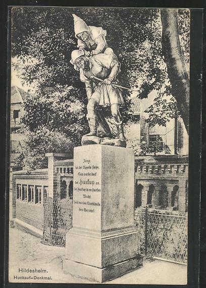 AK Hildesheim, Huckauf-Denkmal 0