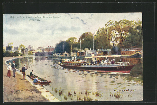 AK Oxford, Salters Oxford and Kingston Steamer leaving 0